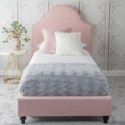 Urban Deco Daisy Blush Pink Fabric 3ft Single Bed