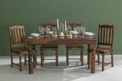 Ganga Sheesham Dining Table - 135cm