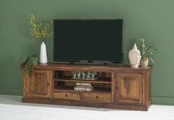 Ganga Sheesham Extra Large Plasma TV Stand -200cm