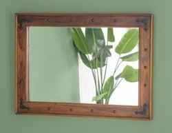 Ganga Sheesham Rectangular Wall Mirror