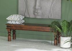Maharani Sheesham Dining Bench / Solid Wood