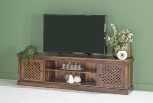 Maharani Sheesham TV Stand / Extra Large 200cm