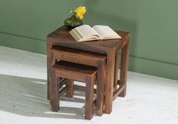 Sheesham Nest of Tables / Set of 3