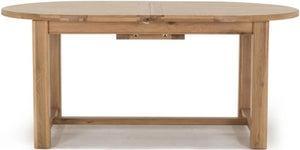 Vida Living Breeze Oak 180cm-220cm Oval Extending Dining Table