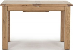 Vida Living Breeze Oak 120cm-160cm Extending Dining Table
