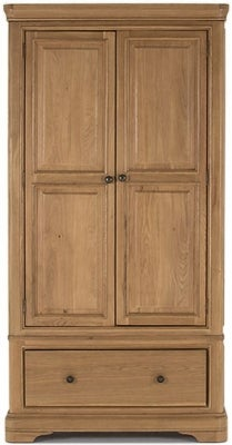 Vida Living Carmen Oak 2 Door Wardrobe