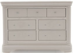 Vida Living Mabel Taupe Painted 7 Drawer Dressing Chest