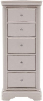 Vida Living Mabel Taupe Painted 5 Drawer Chest