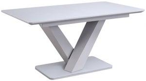 Vida Living Rafael 120cm-160cm Light Grey Extending Dining Table