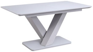 Vida Living Rafael 160cm-200cm Light Grey Extending Dining Table