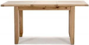Vida Living Ramore Oak 120cm-165cm Extending Dining Table