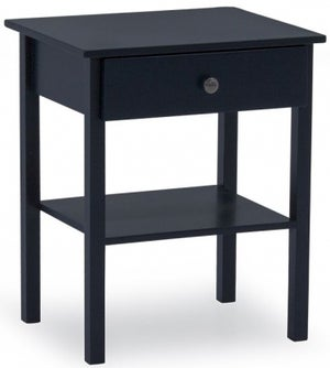 Vida Living Willow Blue Painted Bedside Table