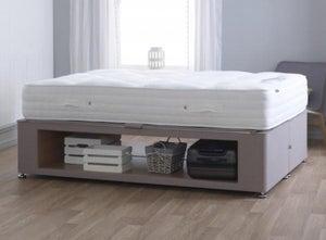Vogue New Maxi Storage Fabric Divan Bed Base