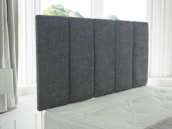 Vogue Premium Cambridge Steel Fabric Headboard