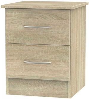 Avon Bardolino 2 Drawer Bedside Cabinet
