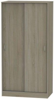 Avon Darkolino 2 Door Sliding Wardrobe