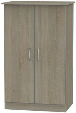 Avon Darkolino 2 Door Midi Wardrobe