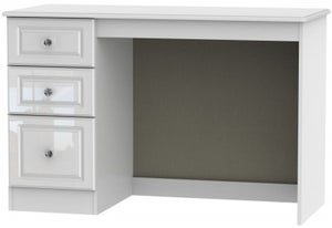 Balmoral High Gloss White Desk