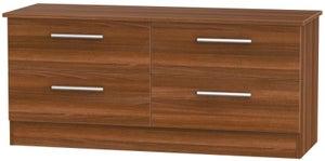 Contrast Noche Walnut Bed Box