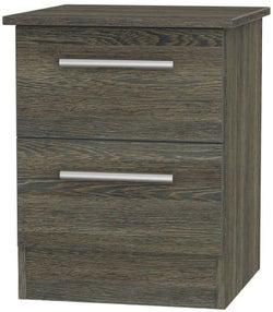 Contrast Panga 2 Drawer Bedside Cabinet