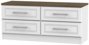 Kent Bed Box - White Ash and Oak