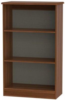 Knightsbridge Noche Walnut Bookcase