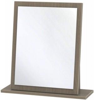 Knightsbridge Toronto Walnut Small Mirror