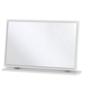 Knightsbridge White Large Mirror
