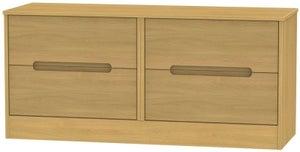 Monaco Modern Oak Bed Box