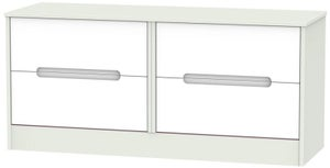 Monaco Bed Box - White and Kaschmir