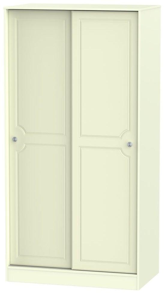 Pembroke Cream 2 Door Sliding Wardrobe