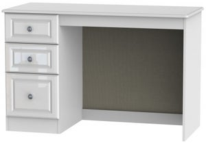 Pembroke High Gloss White Desk