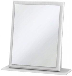 Pembroke White Small Mirror