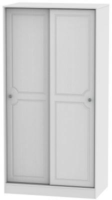 Pembroke White 2 Door Sliding Wardrobe
