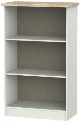 Rome Bookcase - Bordeaux Oak and Kaschmir Ash