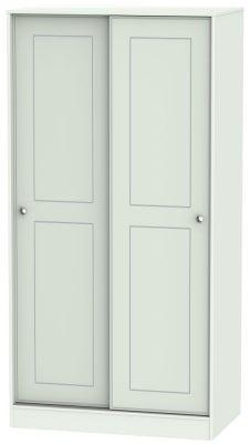 Victoria Grey Matt 2 Door Sliding Wardrobe