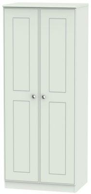Victoria Grey Matt 2 Door Wardrobe