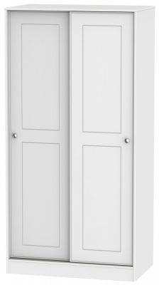 Victoria White Ash 2 Door Sliding Wardrobe