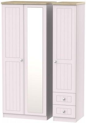 Vienna Kaschmir Ash 3 Door 2 Right Drawer Combi Wardrobe