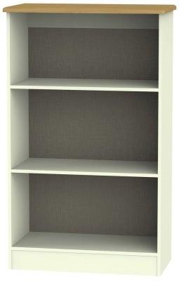 Warwick Cream and Oak Bookcase