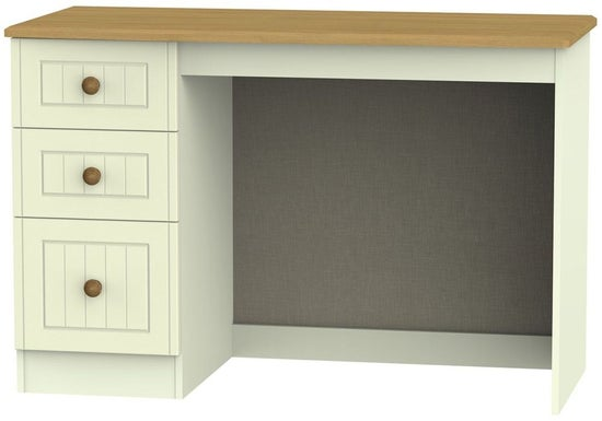 Warwick Cream and Oak Desk