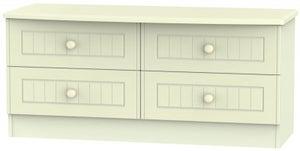 Warwick Cream 4 Drawer Bed Box