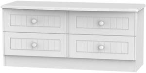 Warwick White Bed Box