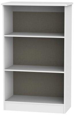 Warwick White Bookcase