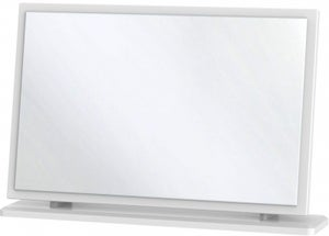 Clearance - Knightsbridge Grey Large Mirror - New - A-154