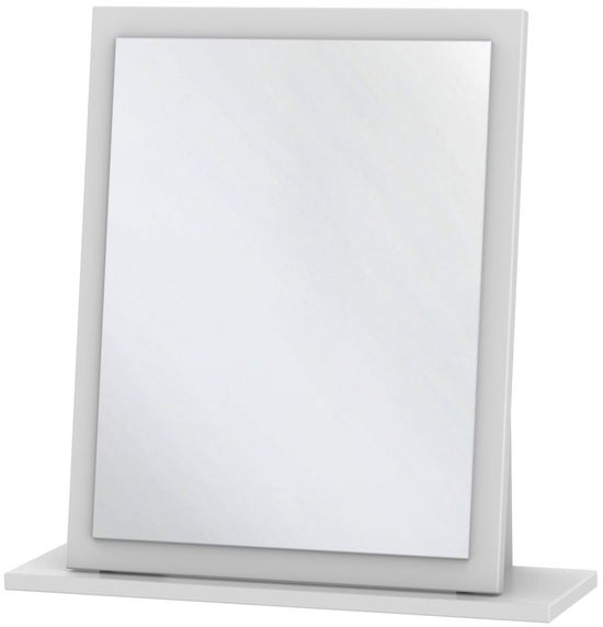Clearance - Contrast White Small Mirror - New - P-73
