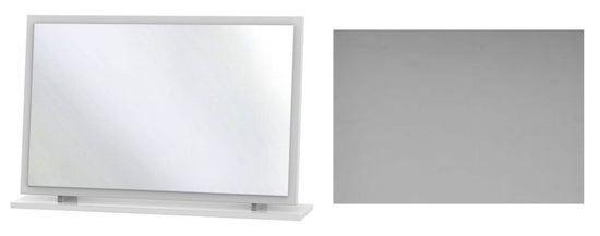 Clearance - Monaco Grey Matt Large Mirror - New - P-77