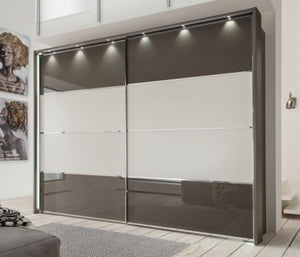 Wiemann Limara Sliding Wardrobe with Lines 1 and 4 in Highlight Color