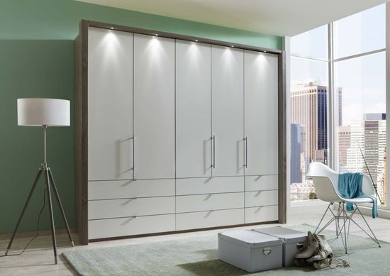 Wiemann Loft Bi-Fold-Panorama Door Functional Wardrobe