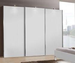 Wiemann Miami Plus 3 Door Sliding Wardrobe in White - W 300cm